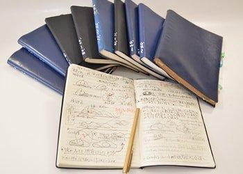 メモ帳の写真